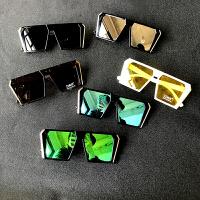 儿童眼镜太阳镜男童女童墨镜多色韩国夏季旅游度假宝宝太阳眼镜潮