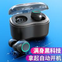 TWS蓝牙耳机触控迷你5.0蓝牙版本耳塞式运动无线双耳IPX6防水隐形迷你超小运动入耳塞开车式微小型头戴挂耳式vivo