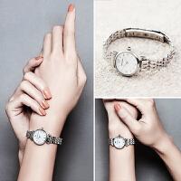 Armani阿玛尼手表 时尚潮流银色小表盘石英女表 AR1763