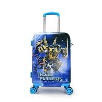 儿童拉杆箱卡通行李箱男孩旅行箱学生万向轮登机箱大黄蜂变形金刚
