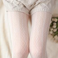 日系森系复古洛丽塔宫廷花纹打底裤袜竖条纹唯美大码丝袜裤女xx 均码