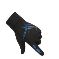 手套男冬季加绒户外防水防风防滑触屏骑行运动开车手套女保暖登山 均码