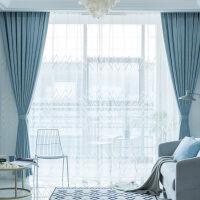 窗帘成品简约现代2018窗帘布遮光卧室客厅飘窗北欧网红ins风