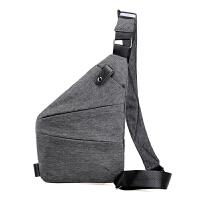 男士胸包2018新款休闲男包单肩斜挎小背包贴身运动包包潮