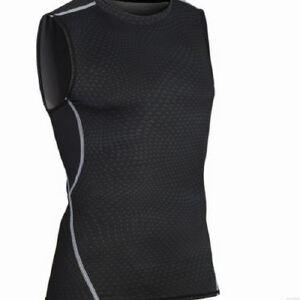 健身服男篮球跑步训练服弹力压缩速干衣运动紧身衣背心MA21
