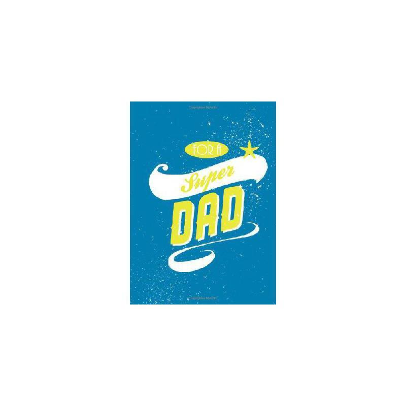 【预订】For a Super Dad 美国库房发货,通常付款后3-5周到货!