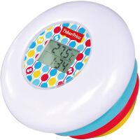 费雪Fisher-Price 不倒翁水温计 叠叠乐叠叠圈玩具(婴幼儿宝宝沐浴戏水洗澡玩具温度计)MTY-809