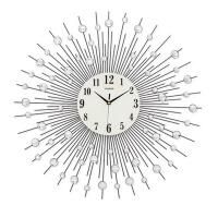 创意钟表简约个性时钟静音石英钟 现代客厅挂钟大号 65X65cm送蒲公英墙贴