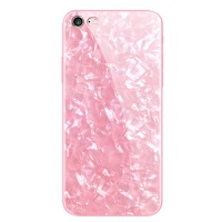 苹果6splus手机壳iPhone6硅胶新款女潮x玻璃壳7p防摔8抖音6s仙女8x贝壳全包软边女款7