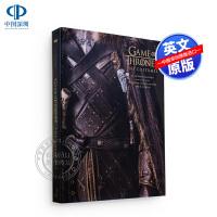 现货 冰与火之歌权力的游戏服装服饰艺术画册设定集 英文原版 Game of Thrones: The Costumes