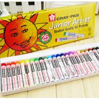 樱花油画棒12色 25色 36色 50色多套装可选 Sakura 油画棒 炫彩棒 蜡笔 彩棒