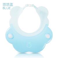 宝宝洗头帽防水护耳神器小孩洗澡帽可调节婴儿洗发帽儿童浴帽a215 可调节