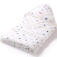 婴儿抱被 新生儿春秋冬款纯棉宝宝抱毯花色婴儿用品睡袋2539