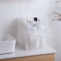 Tenma日本天马株式会社可叠加化妆品收纳篮置物篮桌面收纳筐浴室收纳盒子