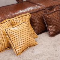 夏季麻将沙发垫靠枕套 麻将抱枕套 沙发凉席抱枕套 不含枕芯