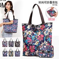 大包包2018新款潮妈妈包购物袋大容量单肩包尼龙手提包帆布包女包