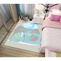 儿童房间地毯男孩书房看书地垫读书角儿童阅读垫房间布置宝宝爬行
