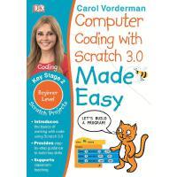 英文原版 DK系列 儿童英语编程语言入门 Computer Coding with Scratch 3.0 Made E