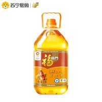 【苏宁超市】福临门浓香压榨一级花生油3.5L