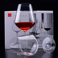 Bormioli Rocco 意大利原装进口意纳多UNO高脚杯 红酒杯 葡萄酒杯 4种容量 2只装