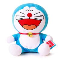Aoger/正版经典哆啦A梦公仔 大号毛绒玩具女生日礼物一套 大笑 正版 12寸【坐高33厘米】