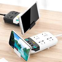 插板带线插排USB接线板3/5米排插座长线家用多功能电源转换器 m9b