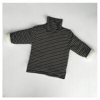 №【2019新款】男女童夹棉加绒打底衣儿童加厚上衣宝宝长袖高领T恤上衣