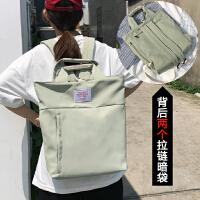 夏天小清新书包女学生双肩包女高中背包时尚14寸电脑包