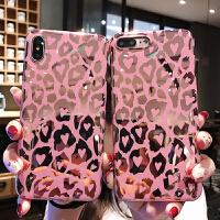 潮牌烫金豹纹8plus苹果x手机壳XS Max/XR/iPhoneX/7p/6女iphone6s 6/6s 电镀镜面