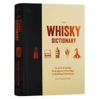 威士忌字典 英文原版 The Whisky Dictionary �P于威士忌的A到Z百科知�R 威士忌工具�� 杜松子酒字典