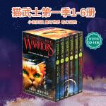 Warriors Box Set Volumes 1 to 6 猫武士第 一部曲套装英文原版小说 into the w