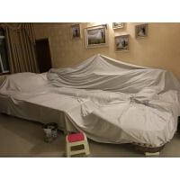 床家具沙发罩布沙发防灰尘罩布装修大扫除遮灰布防尘罩单防尘盖布 浅灰色