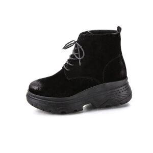 WARORWAR新品YM151-K511秋冬韩版平底舒适女士靴子马丁靴短靴