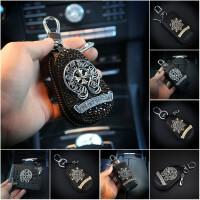 奔驰宝马大众汽车钥匙包女士镶钻钥匙套车载车用钥匙包钥匙套