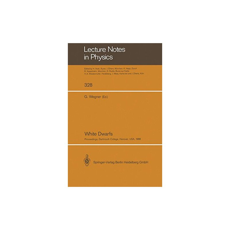 【预订】White Dwarfs: Proceedings of Iau Colloquium No. 114, Held a... 9783662137451 美国库房发货,通常付款后3-5周到货!