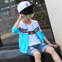 童装男童夏装防晒衣新款儿童夏季防晒服薄外套透气小孩空调衫