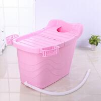 洗澡桶泡澡桶可宝宝洗澡桶特大儿童沐浴桶