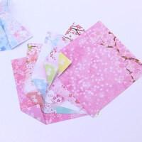 花开一季双面印花手工折纸正方形花纹彩纸千纸鹤折纸儿童彩色纸林