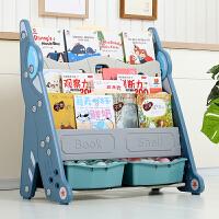 儿童书架绘本架宝宝书架书柜组合落地简易玩具收纳架收纳柜家用