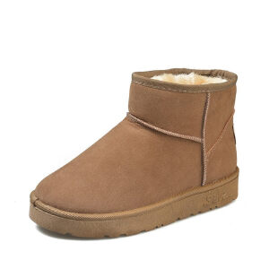 WARORWAR新品YM159-E972冬季休闲平底舒适女士雪地靴