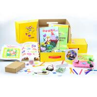 小卡儿童DIY科技制作科学实验STEAM教育课程盒子寻宝机器人玩具