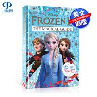 英文原版 DK系列 冰雪奇缘2魔法指南 精装迪斯尼儿童绘本 Disney Frozen 2 The Magical Gu