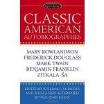 经典美国自传集 英文原版书 Classic American Autobiographies 富兰克林 马克吐温 道格