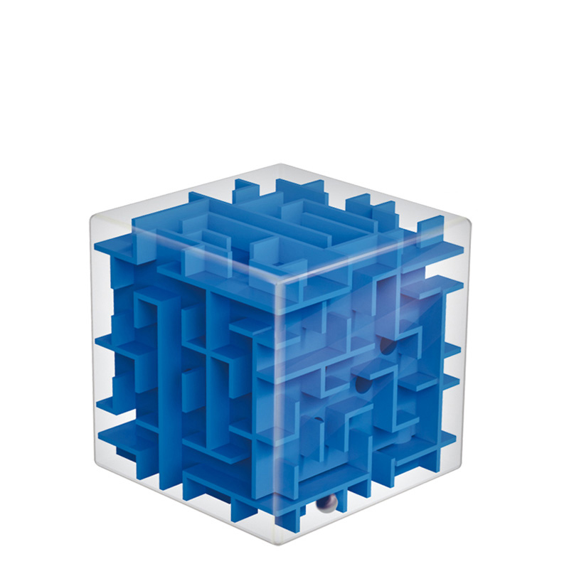 麦宝创玩魔方3D迷宫 开发智力3-99岁玩具 早教益智环保塑料用品儿童迷宫玩具立体六面 720度旋转 锻炼玩家思维 手脑并用