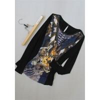 巴[N33-237]专柜品牌正品新款女士打底衫女装雪纺衫0.14KG