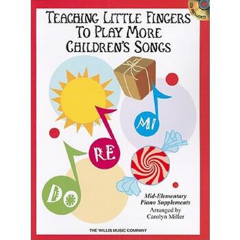 【预订】Teaching Little Fingers to Play More Children's Songs [With CD (Audio)] 预订商品,需要1-3个月发货,非质量问题不接受退换货。