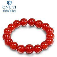 粤通珠宝 红玛瑙 黑玛瑙(拍下留言需要哪个颜色) 晶莹通透 触手生温