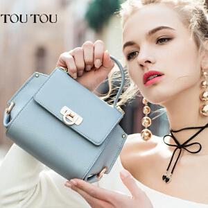 toutou2017新款包包女迷你斜挎小包翅膀包蝙蝠包百搭单肩手提包潮
