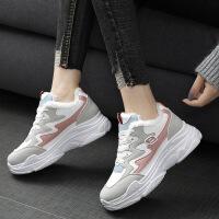 №【2019新款】冬天女生穿的新款加绒运动鞋女韩版原宿2018休闲跑步鞋学生女棉鞋