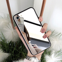 苹果6Plus手机壳5.5寸A1524简约套iphone6splus镜面A1699潮女6pls 苹果6p/6splus
